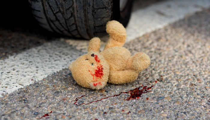 car-accident-injured-four-kids